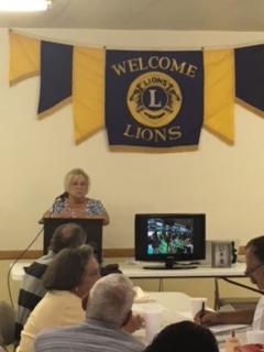 Lions Club Pres.